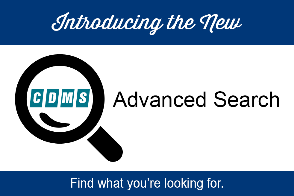 CDMS Advanced Search